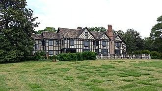 Agecroft Hall - Image: Agecroft Hall rear 20130507 132139