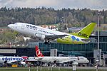 "Air Baltic Boeing 737-522 YL-BBN ""2014 Winter Olympic Games"" (26231092853).jpg"