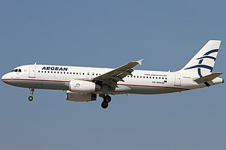 Aegean Airlines - Aegean Airlines Airbus A320-200