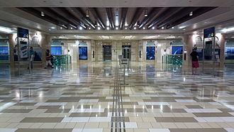 Al Ras (Dubai Metro) - Image: Al Ras metro station