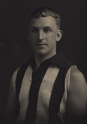 Albert Lauder - Lauder during his career with Collingwood