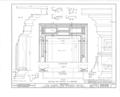 Albert Van Voorhis House, Maple and Franklin Avenues, Wyckoff, Bergen County, NJ HABS NJ,2-WYCK,1- (sheet 13 of 18).png