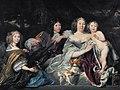 Albertine Agnes, Princes of Oranje, with her three children, by Abraham van den Tempel.jpg