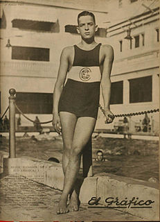 Alberto Zorrilla Argentine swimmer
