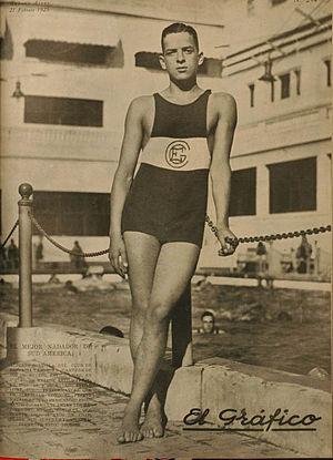 Alberto Zorrilla - Image: Albertozorrilla 1925 cge