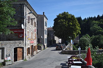 Albon-d'Ardèche - Albon d'Ardèche main street