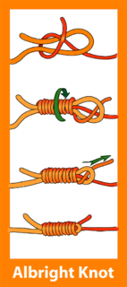 Albright special bend knot