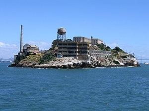 National Register of Historic Places listings in San Francisco - Image: Alcatraz Island