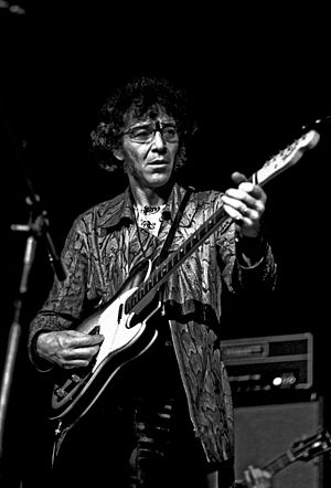 British blues - Alexis Korner, often called the father of British blues