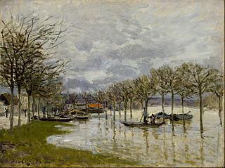 L'Inondation sur la route de Saint-Germain