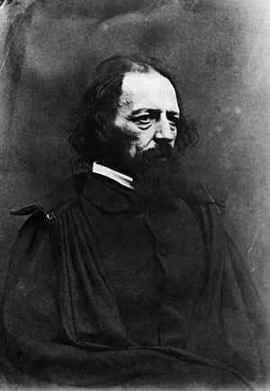 Oscar Gustave Rejlander - Portrait of Alfred Tennyson, 1st Baron Tennyson.