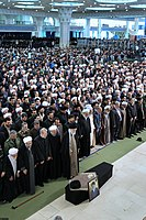 Ali Khamenei Praying for Ayatollah Hashemi Shahroudi04.jpg