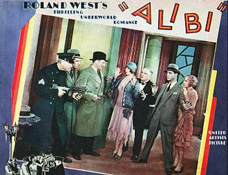 Chester Morris - Morris (second from right) received an Oscar nomination for his performance as a gangster in Alibi (1929)