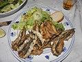 Alici fritte con insalata verde (2010) - RaBoe.jpg