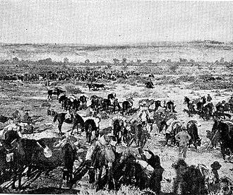 Capture of Jericho - A halt in the Jordan Valley