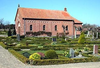 Jens Christian Kofoed - Image: Allinge kapellet