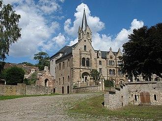 Allstedt - Image: Allstedt Beyernaumburg Castle