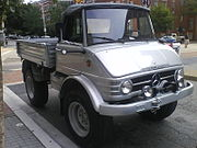 Almost new looking UNIMOG in Baltimore, Maryland, US