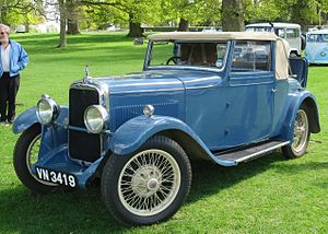 Alvis 12/50 - TJ, drophead coupe by Carbodies, registered January 1932