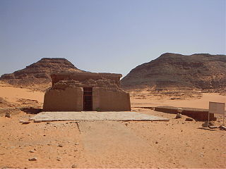Amada archaeological site in Egypt