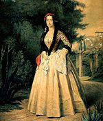 Amalia wearing Amalia dress (Source: Wikimedia)
