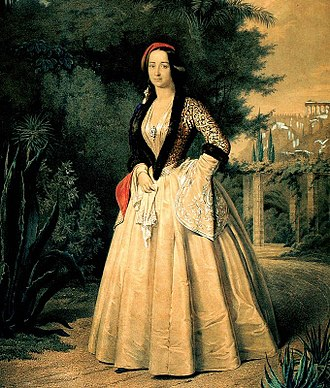 Amalia of Oldenburg - Amalia wearing Amalia dress
