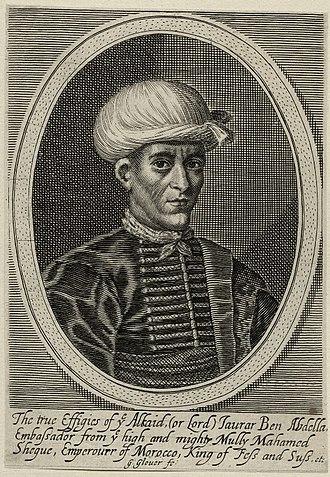 Morocco–United Kingdom relations - Ambassador Jawdar, 1637.