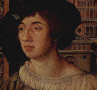 Smocking - Smocking on the collar of a sixteenth-century garment.