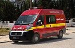 Ambulance de la protection civile, Tunisie, mai 2013.jpg