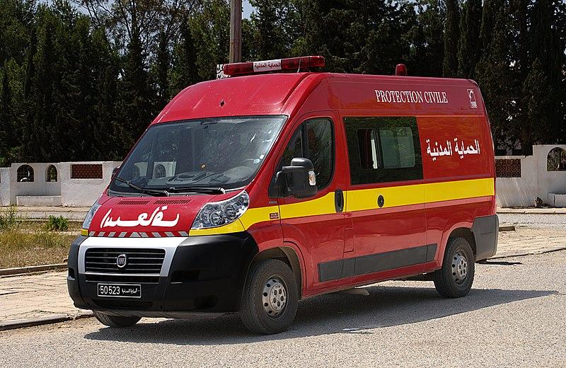 File:Ambulance de la protection civile, Tunisie, mai 2013.jpg