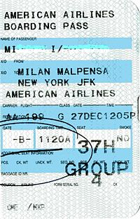 American Airlines boarding pass AA 199.jpg