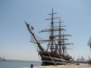 Amerigo Vespucci ship, in Haifa (19).JPG