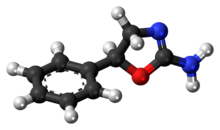 Ball-and-stick model of aminorex