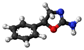 Aminorex - Image: Aminorex molecule ball