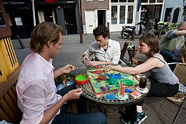 Risk-spelers in Amsterdam