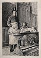 "An anatomist, ""Mr Le Professeur C..."", dissecting a cadaver Wellcome V0010461.jpg"