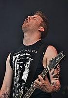 "Anaal Nathrakh, Mick ""Irrumator"" Kenney at Party.San Metal Open Air 2013 05.jpg"
