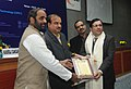 Ananth Kumar presented the 6th National Awards for Technology Innovation in Petrochemicals & Downstream Plastics Processing Industry, at a function, in New Delhi. The Minister of State for Chemicals & Fertilizers (1).jpg