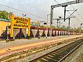 Anatapur Railway station board.jpg