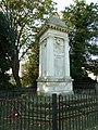 Andovers war memorial in autumn, 2011 (geograph 2630640).jpg