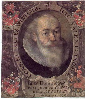 Johannes Valentinus Andreae Rosicrucian