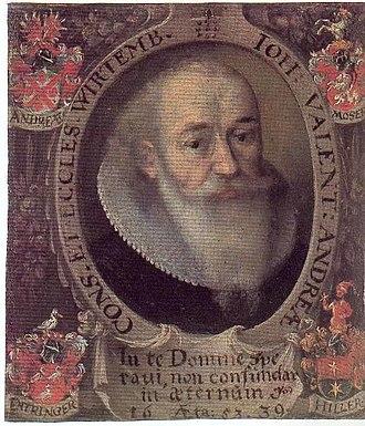 Johannes Valentinus Andreae - Johannes Valentinus Andreae