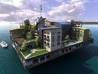 "Seasteading - András Győrfi's ""The Swimming City"""