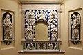 Andrea della robbia, pala di fontecastello con dio padre e angeli, 01.jpg