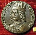 Andrea guacialotti, medaglia di alfonso d'aragona, duca di calabria, 1481.JPG