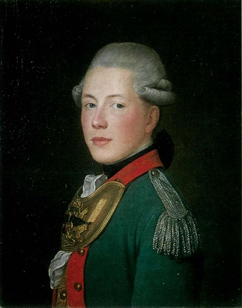 Художник Жан Луи Вуаль, 1774 год