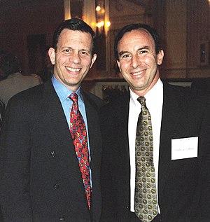 Andrew Tobias - Tobias (right) in 1999