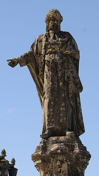 Annas - Statue of Annas in Bom Jesus, Braga