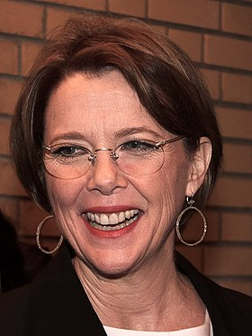 Annette Bening won twice for her roles in Being Julia (2004) and The Kids Are All Right (2010) AnnetteBeningSept2013TIFF.jpg
