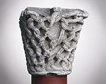 Anonyme toulousain - Chapiteau de colonne simple , Lianes tressées - Musée des Augustins - ME 214 (3).jpg